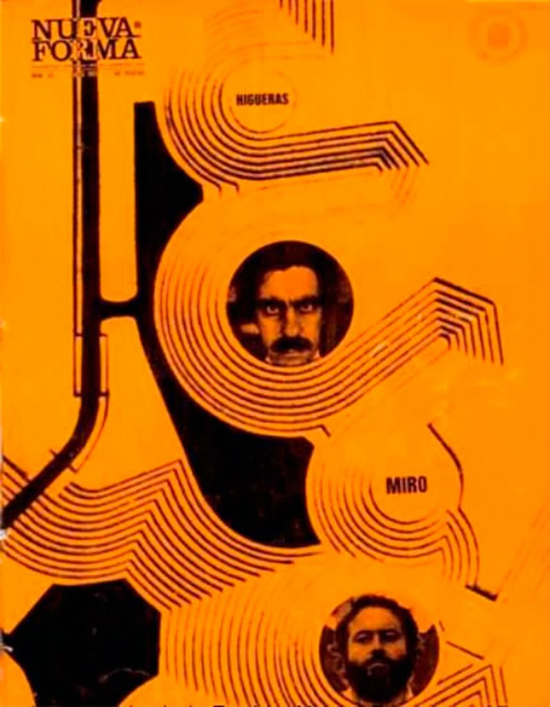 Portada de la Revista Nueva Forma, no.65. Junio de 1971