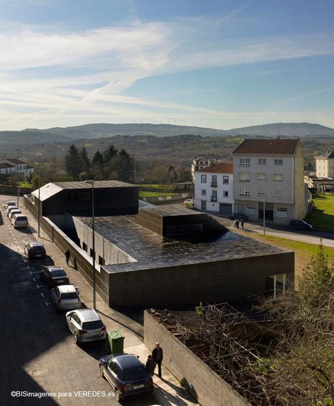 Centro de salud en monterroso abalo alonso arquitectos - Arquitectos lugo ...