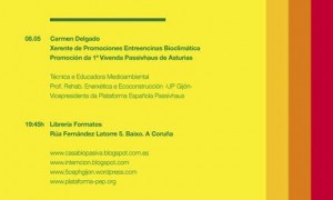 Intemción 2013 · Promoting and c constructing bioclimatic architecture