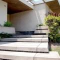 Detalle de ingreso de la casa Nycander. Alfredo Baertl Montori, arquitecto. 1957 | Fotografía: Fernando Freire Forga