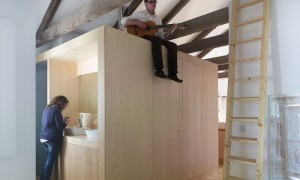 Reforma de vivenda na rúa Príncipe de Vigo | u+a arquitectura