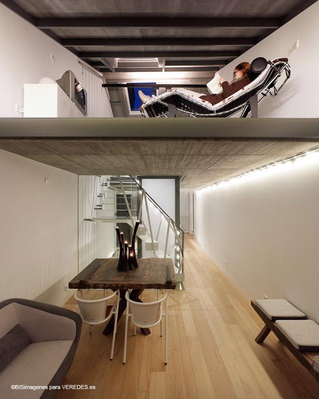 Reforma de vivienda y estudio de arquitectura mui os otero for Estudio de arquitectura