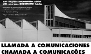 VIII Congreso DOCOMOMO Ibérico (comunicacións)