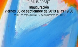 Talk is cheap · David Heras Verde