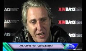 Arq. Carlos Pita en la XIVBA13 - De Galicia a Buenos Aires en un renovado eje histórico