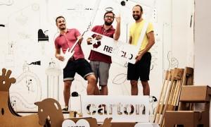 Moho arquitectos · Diseño industrial y mobiliario | cartonLAB