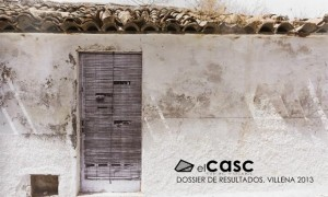 ElCASC · Dossier of results. Villena 2013