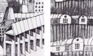 Influences in Aldo Rossi's drawing: killing the father | Borja López Cotelo