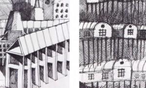 Influencias no debuxo de Aldo Rossi: matando o pai | Borja López Cotelo