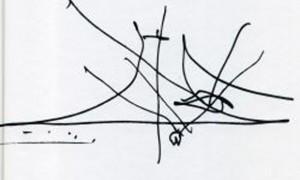 A arquitectura de Óscar Niemeyer a partir dos seus debuxos