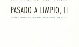 Pasado a limpo II. Josep Quetglas Riusech