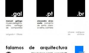 Falamos de arquitectura · Xornadas sobre arquitectura