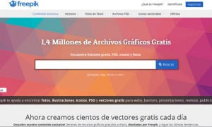 Freepik: el buscador de recursos gráficos gratuitos
