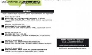 DOCUMENTARQ.3 - Ciclo de documentales de arquitectura