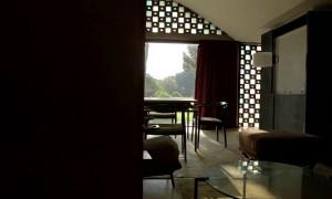 La Ricarda, the glass house