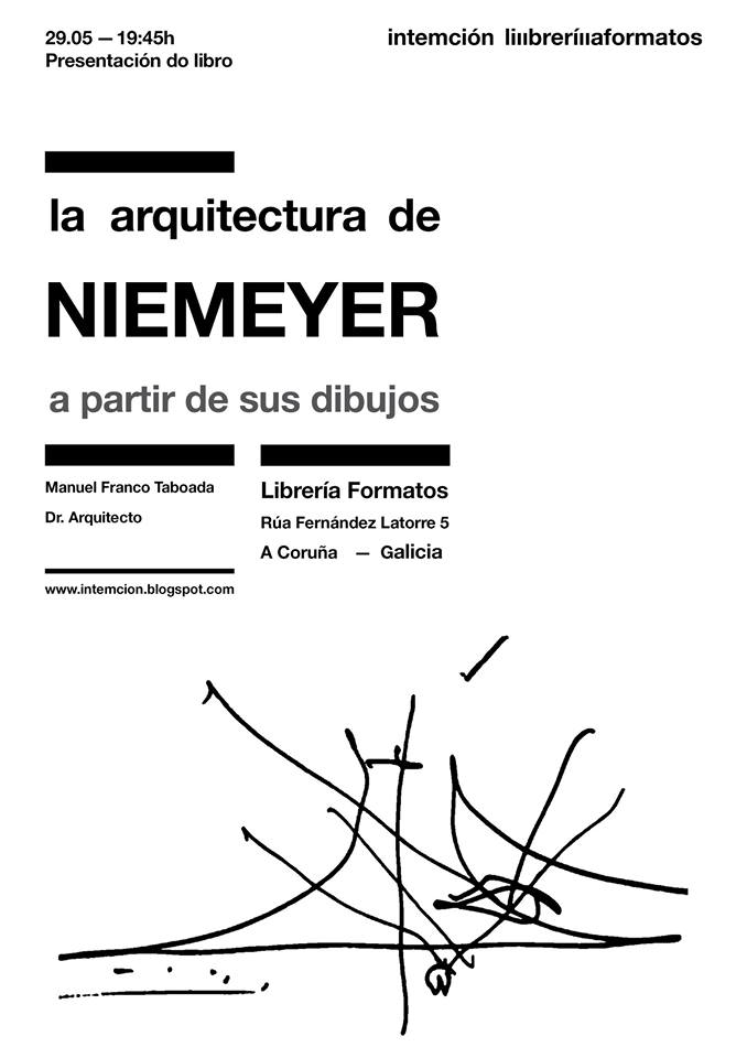 La arquitectura de scar niemeyer a partir de sus dibujos for Arquitectura 5 de mayo plan de estudios