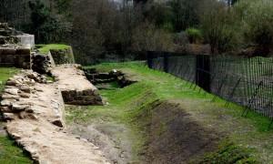Enclosing wall Rocha Forte | RVR Architects