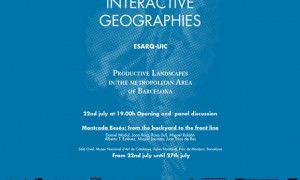 Interative Geographies: Produces landscapes in the metropolitan area of Barcelona