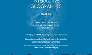 Interative Geographies: Paisaxes productivos na área metropolitana de Barcelona