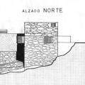 Alzado norte, sin la ampliación