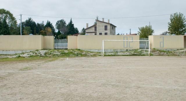 Wardrobes for soccer field in Vilar de Astrés | trespes.arquitectos