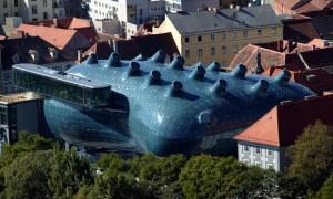 La Kunsthaus en Graz, de Peter Cook | Halldóra Arnardóttir – Javier Sánchez Merina