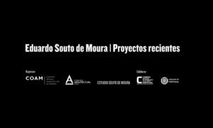 Conference Souto de Moura. XI Semana de Arquitectura