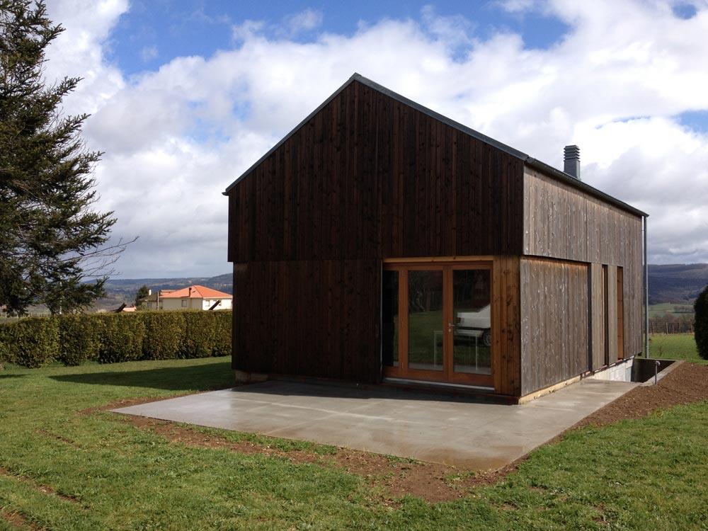 Casa de campa a arkb arrokabe arquitectos for Revestimiento exterior zinc