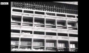 Rare film of Le Corbusier in his Paris home and studio