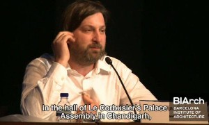 "BIArch Open Lectures: Smiljan Radic ""Un Ruido Naranxo"""