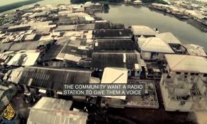 Rebel Architecture - Trabajando sobre el agua