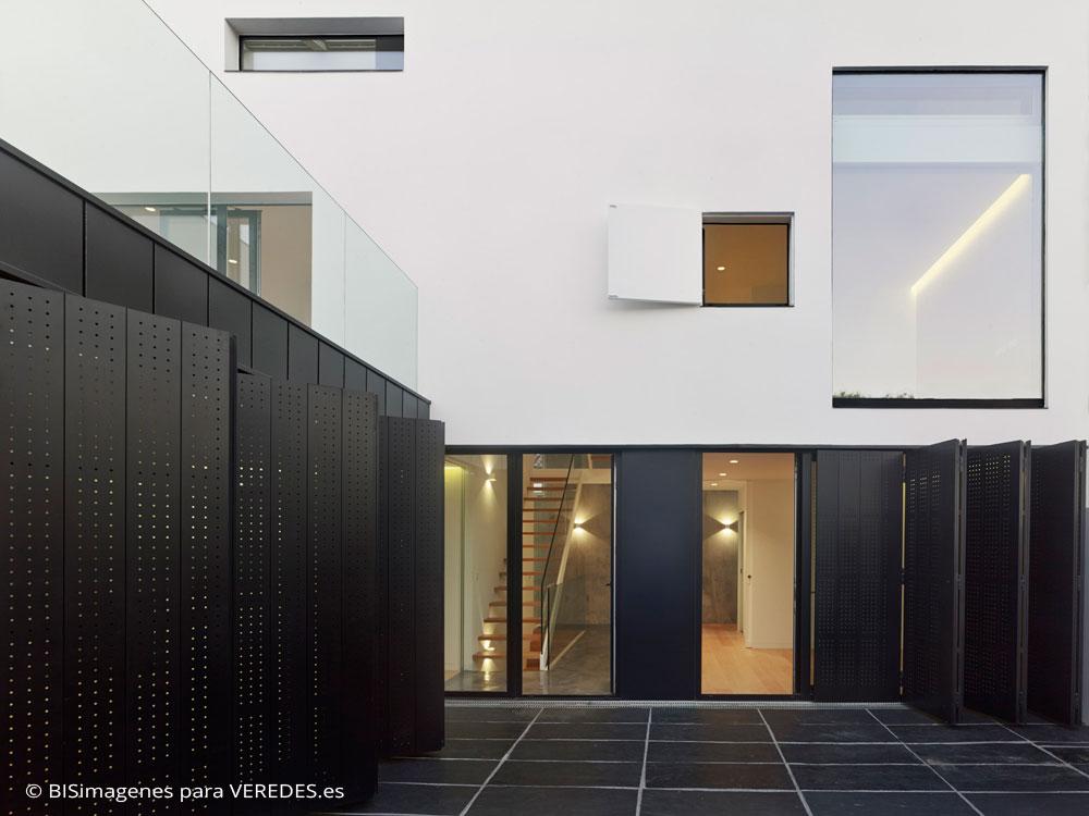 Vivienda unifamiliar en a choupana 2es oficina de for Vivienda unifamiliar arquitectura
