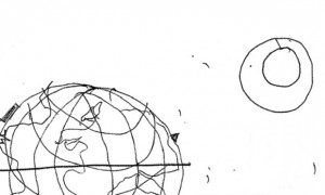 The drawing of the world