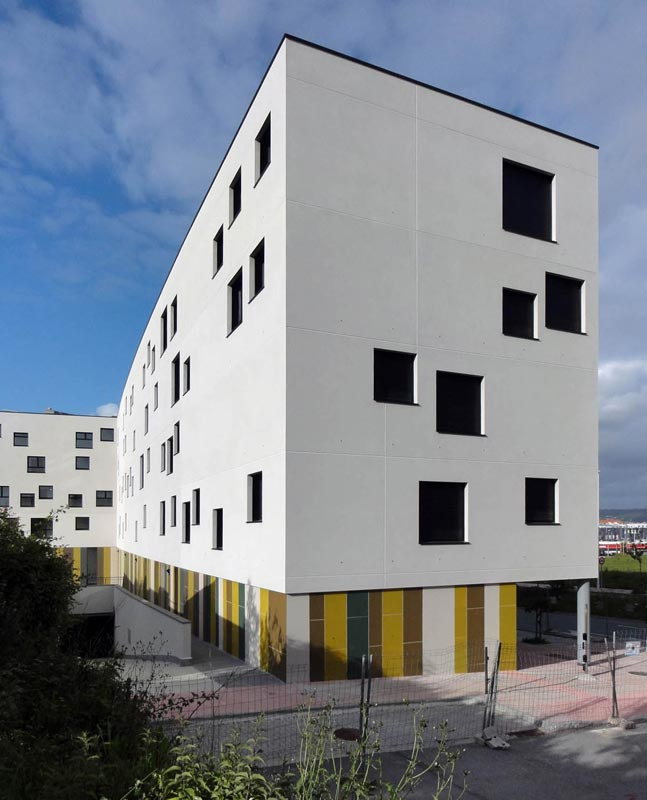 28 viviendas de promoci n p blica en o bert n - Arquitectos ferrol ...