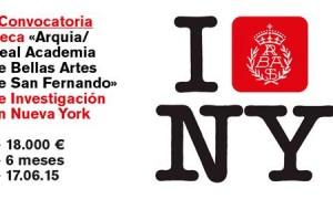 1st  Arquia/Real Academia de San Fernando's Fine arts Investigation Scholarships