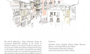 Madrid Traditional Architecture and Urbanism Summerschool