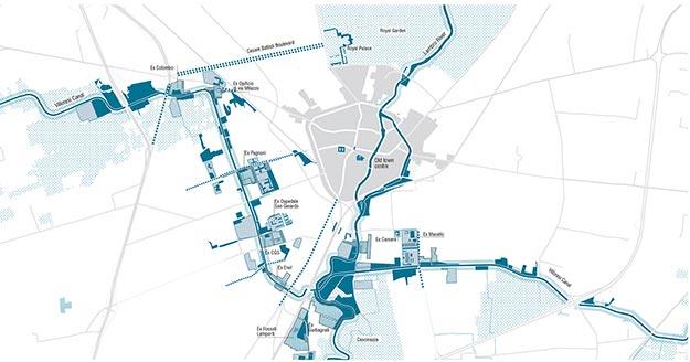 Masterplan para la ciudad de Monza, Ubistudio (Italia)