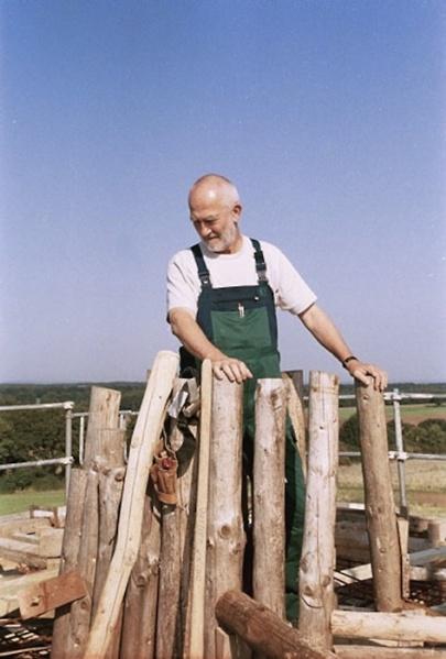 Capilla Bruder Klaus, Peter Zumthor, 2007 | Fuente: wikiarquitectura