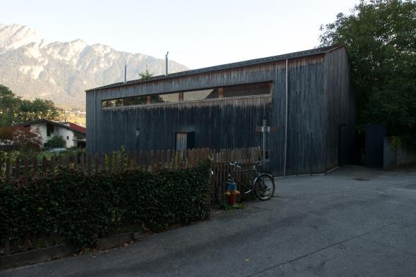 Estudio Zumthor, Haldenstein, Cantón de los Grisones, Suiza, 1986