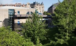 Accesibilidade urbana entre o barrio de Latsunbe-Berri e a rúa Urbieta | VAUMM arquitectura e urbanismo