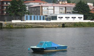 Rehabilitation and extension of the oar and canoeing Nautical Club in Pontecesures | Luis Gil+Cristina Nieto