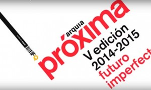 Presentation of the juror of Arquia Próxima 2014-2015