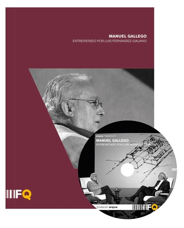 arquia/maestros 5 MANUEL GALLEGO Entrevistado por Luis Fernández Galiano Dirigido por Joan Úbeda, Arnau Monràs y David Ramos (realizador)