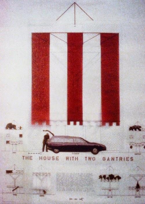 Casa con dos grúas de Alison y Peter Smithson, 1977