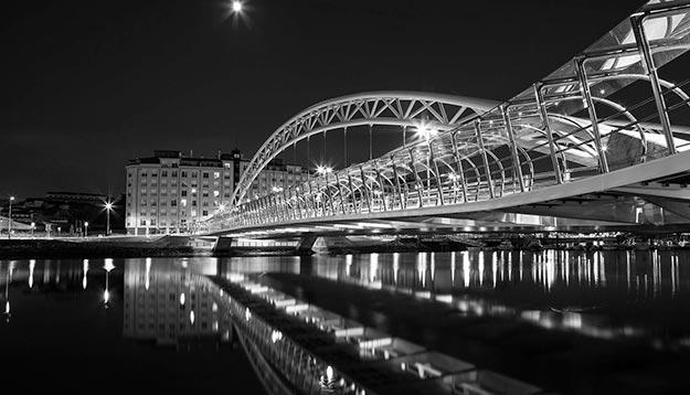 Puente Las Corrientes Pontevedra. Galicia. España