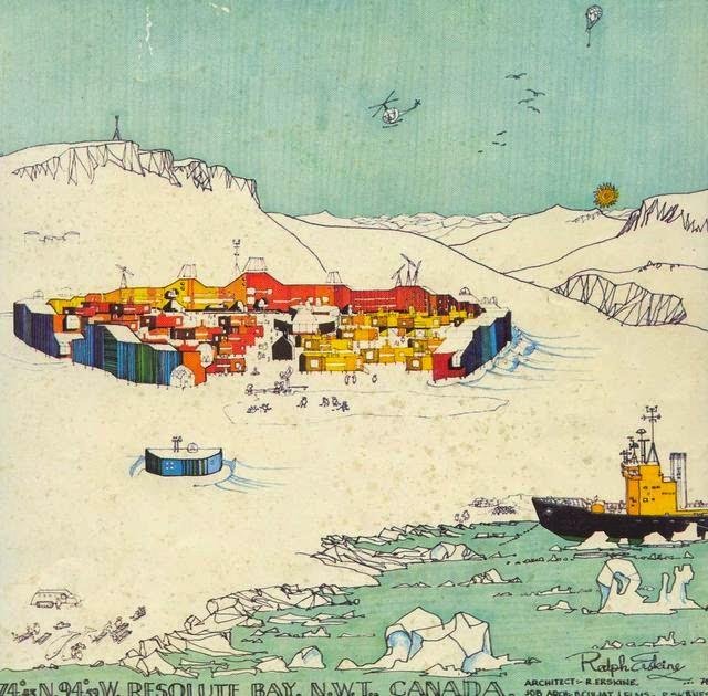 Ralph Erskine, Resolute Bay, Canada 1970-73