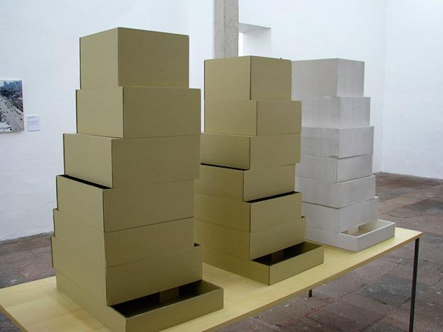 SANAA, Maquetas del Museo de Arte Contemporáneo de Nueva York, 2003 | Fotografía: Eduardo Arriaga