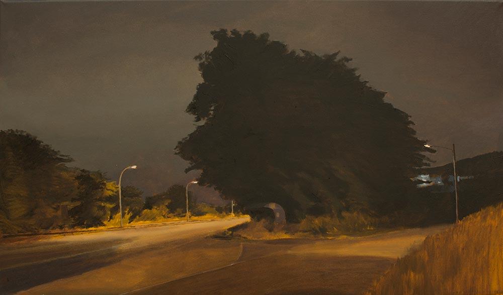 Vao, 2015, óleo/lienzo, 35 x 60 cm.