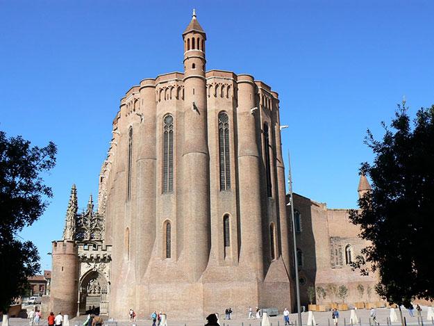 El extremo oriental de la Catedral.