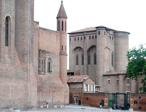 El Palacio de Berbie evoca a Louis I. Kahn